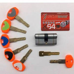 Descubre el bombín Securemme EVO K64